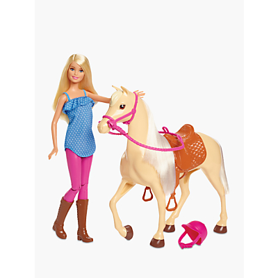 Picture of Barbie Horse and Rider Doll