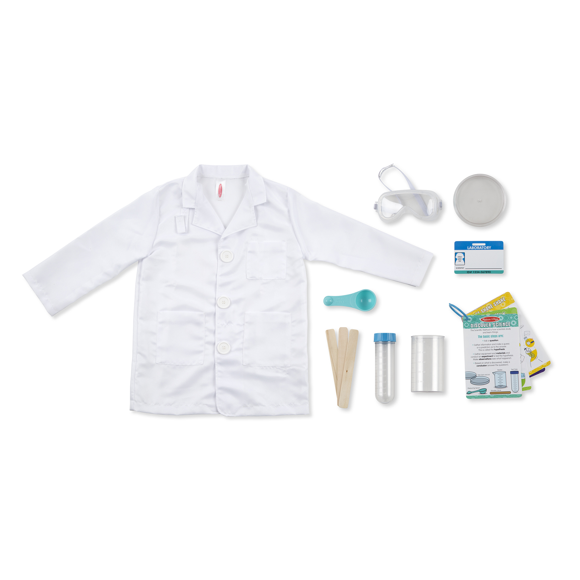 Picture of Melissa & Doug Scientist Roleplay Set