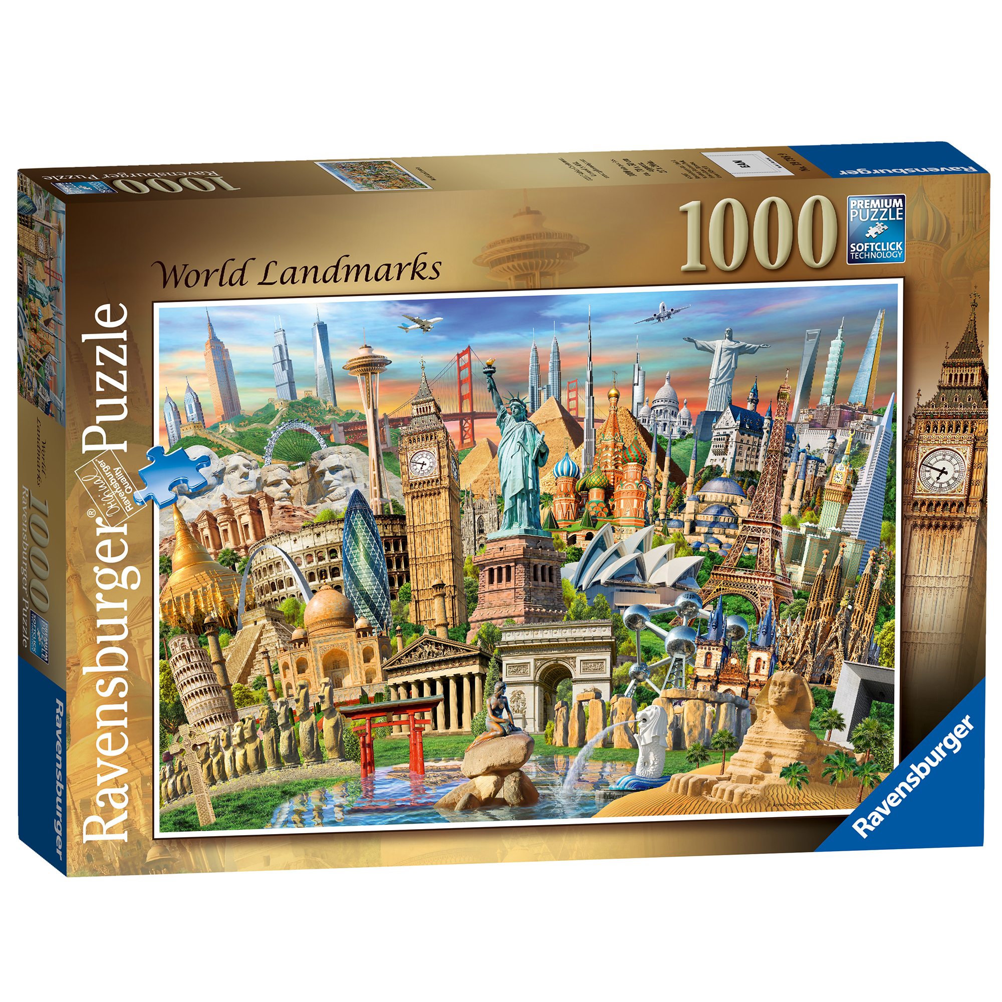 Picture of Ravensburger World Landmarks 1000 Piece Puzzle