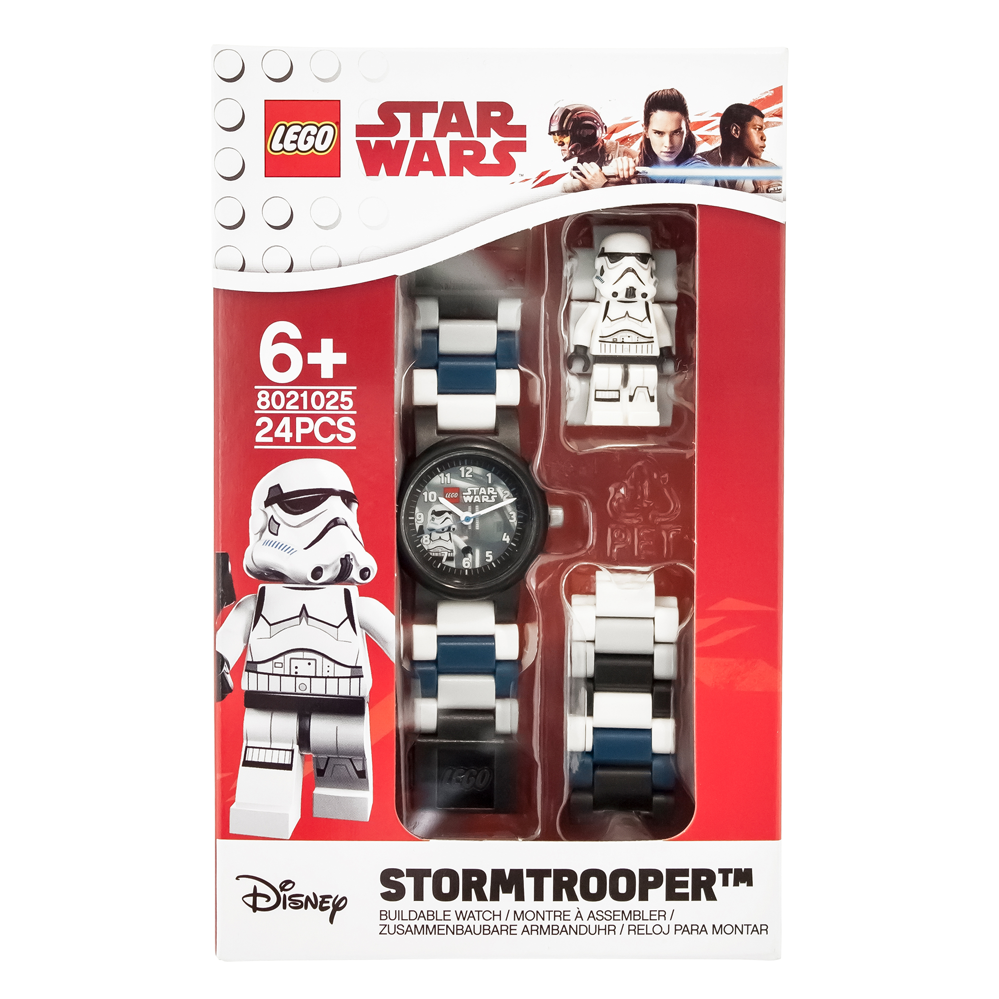 Picture of LEGO Star Wars Stormtrooper Figure Link Buildable Watch