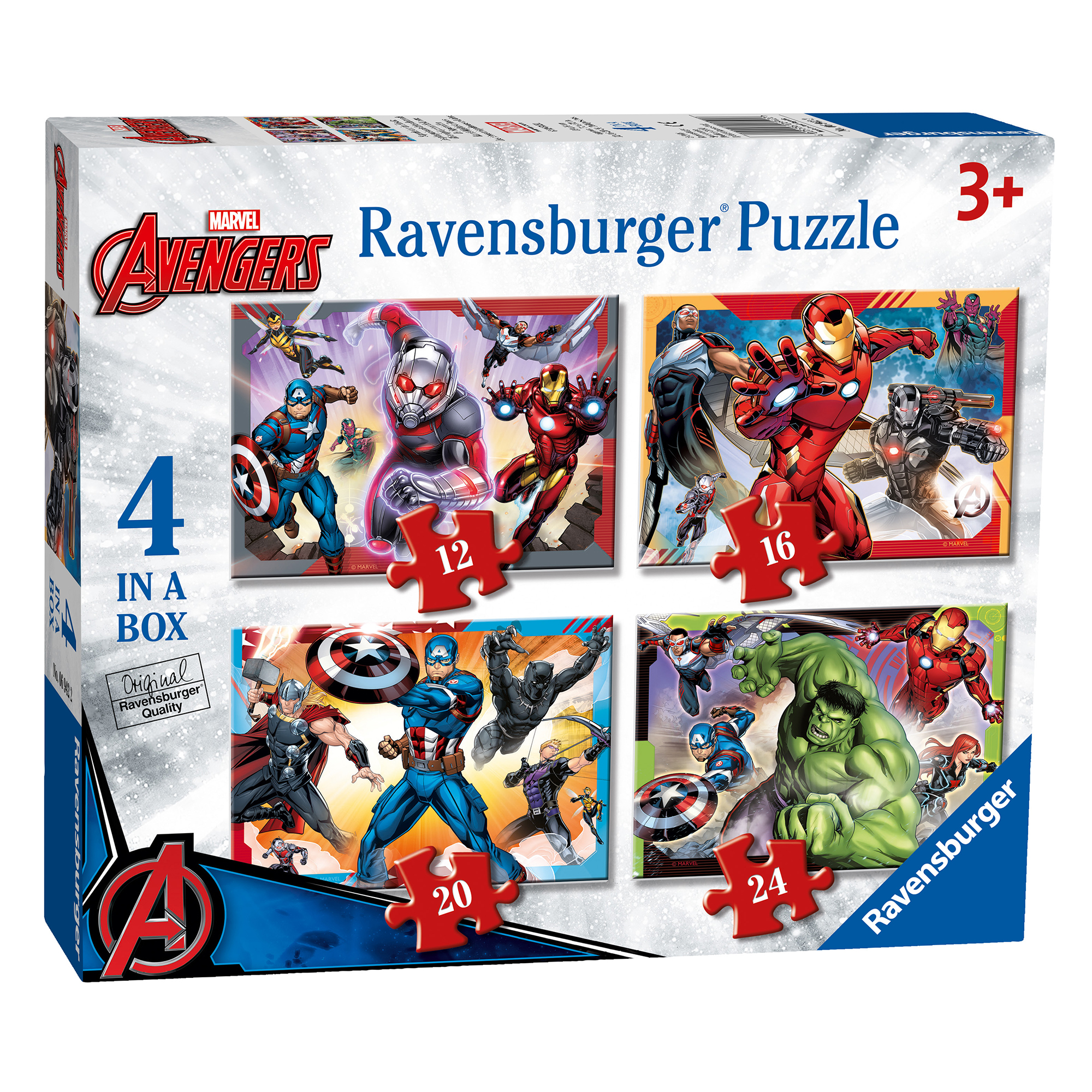 Picture of Ravensburger Marvel Avengers 4 Puzzle Pack