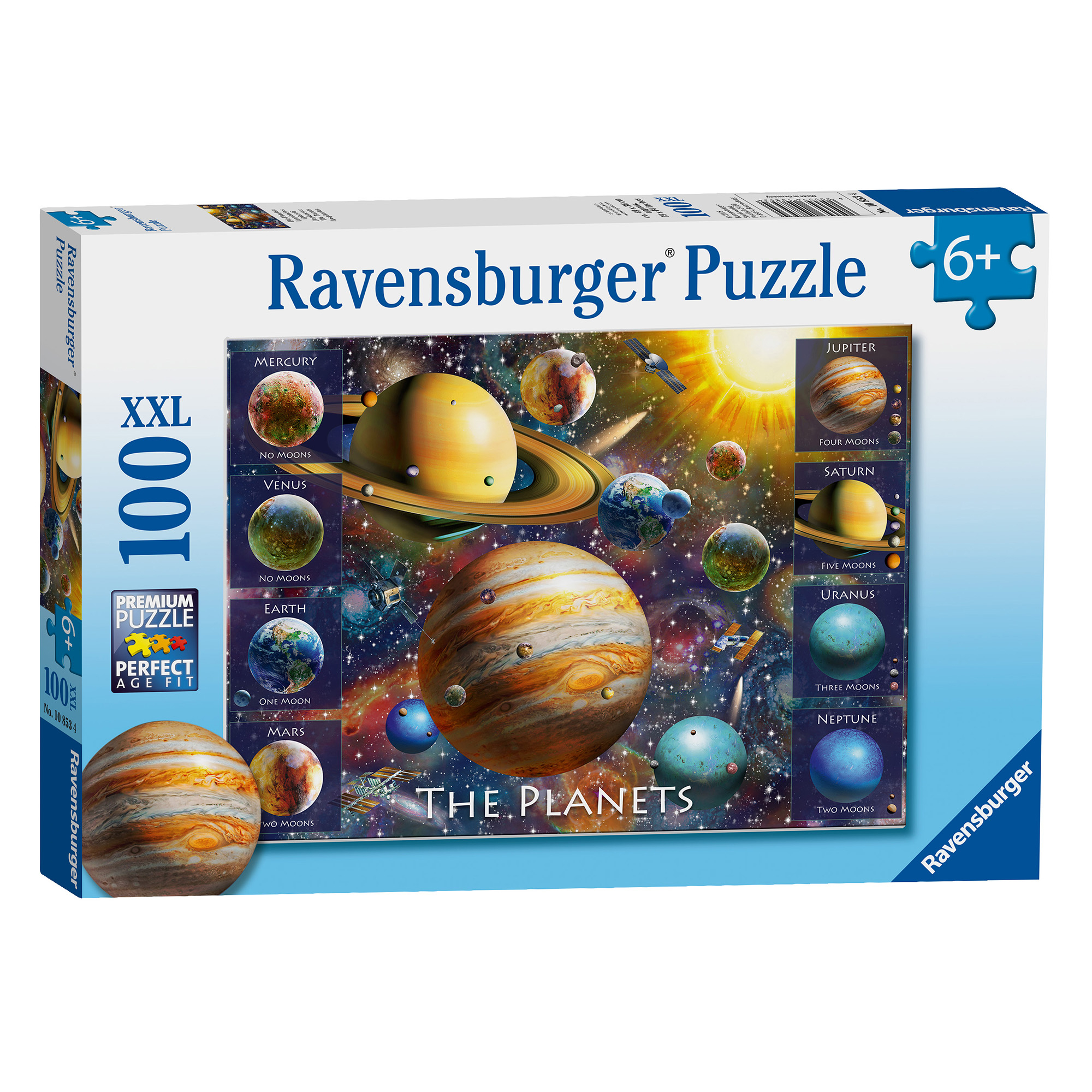 Picture of Ravensburger The Planets 100 Piece XXL Puzzle