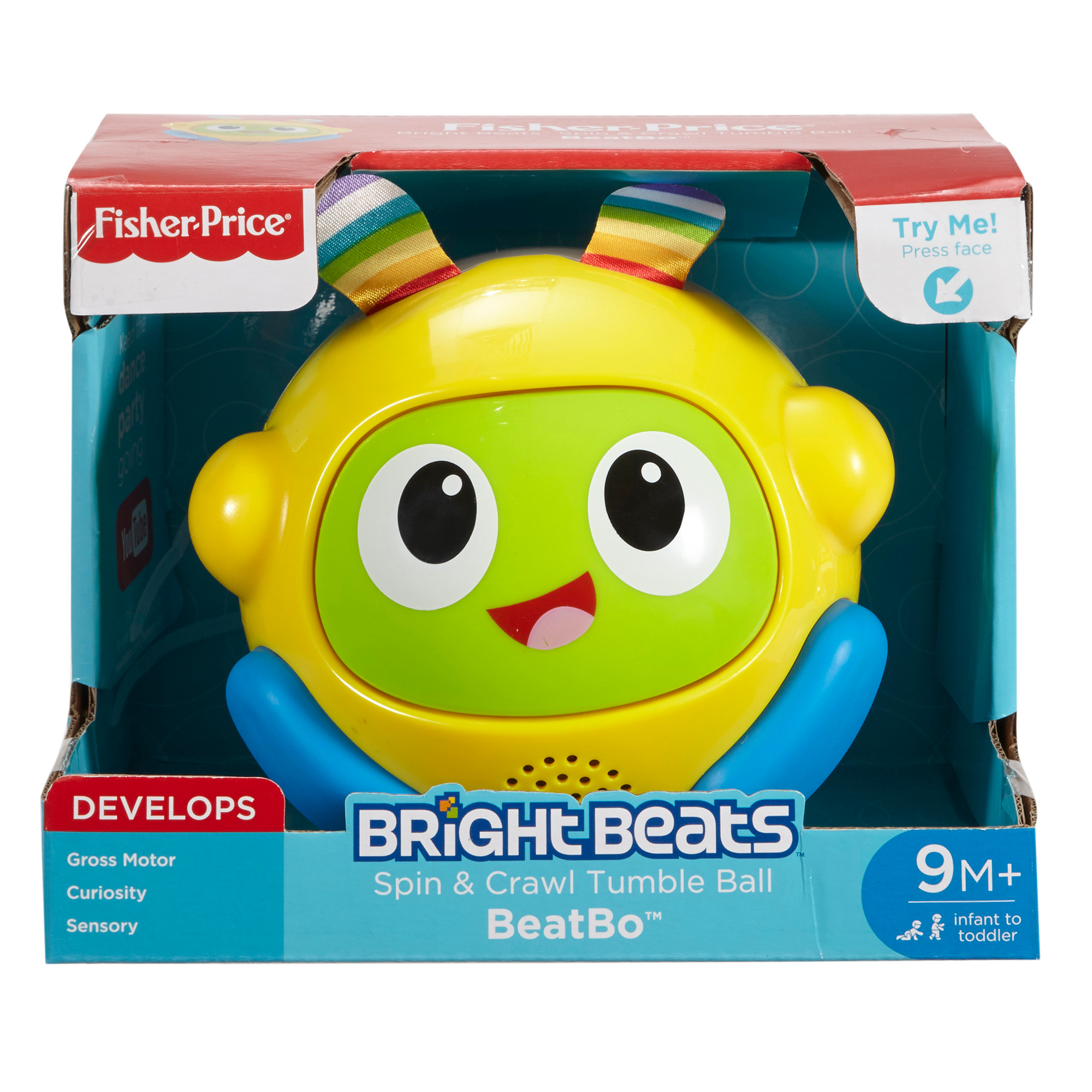 Picture of Fisher Price Bright Beats Tumble Ball Assortment
