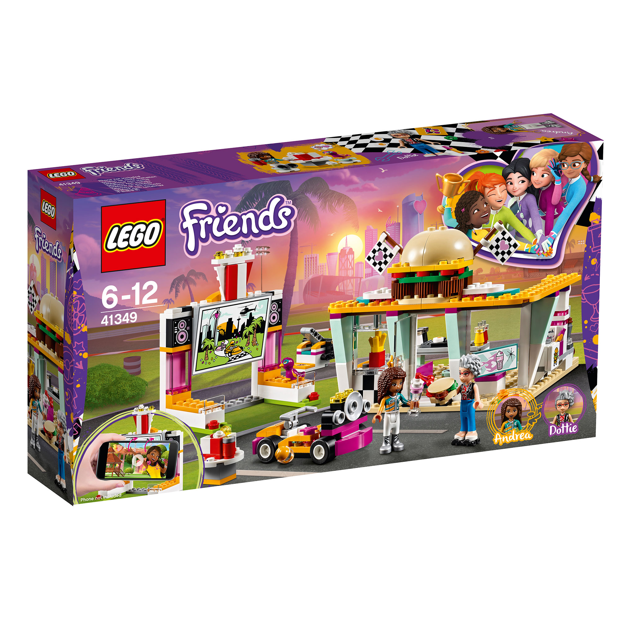 Picture of LEGO Friends Drifting Diner 41349