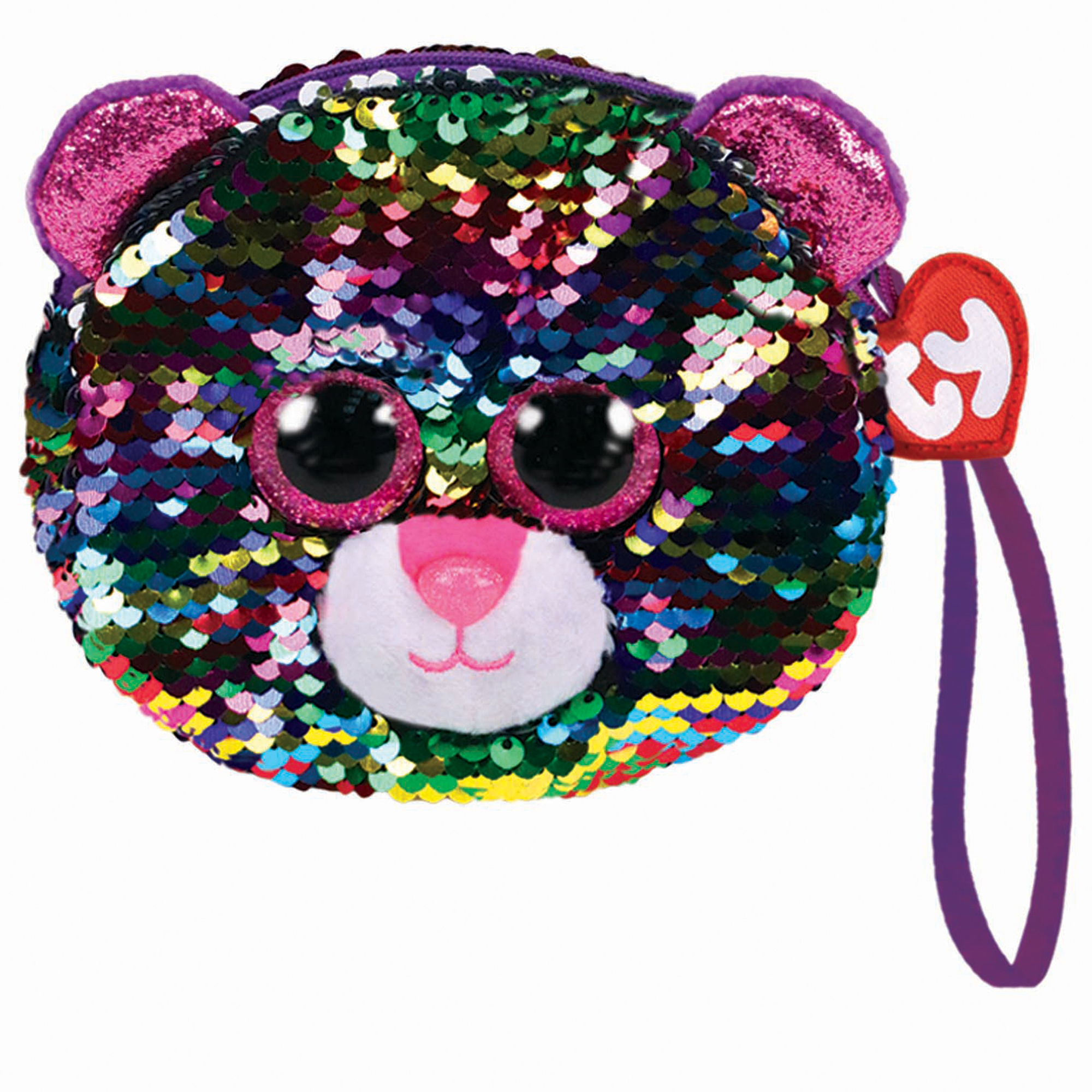 Picture of TY Dotty Leopard Sequin Shoulder Bag