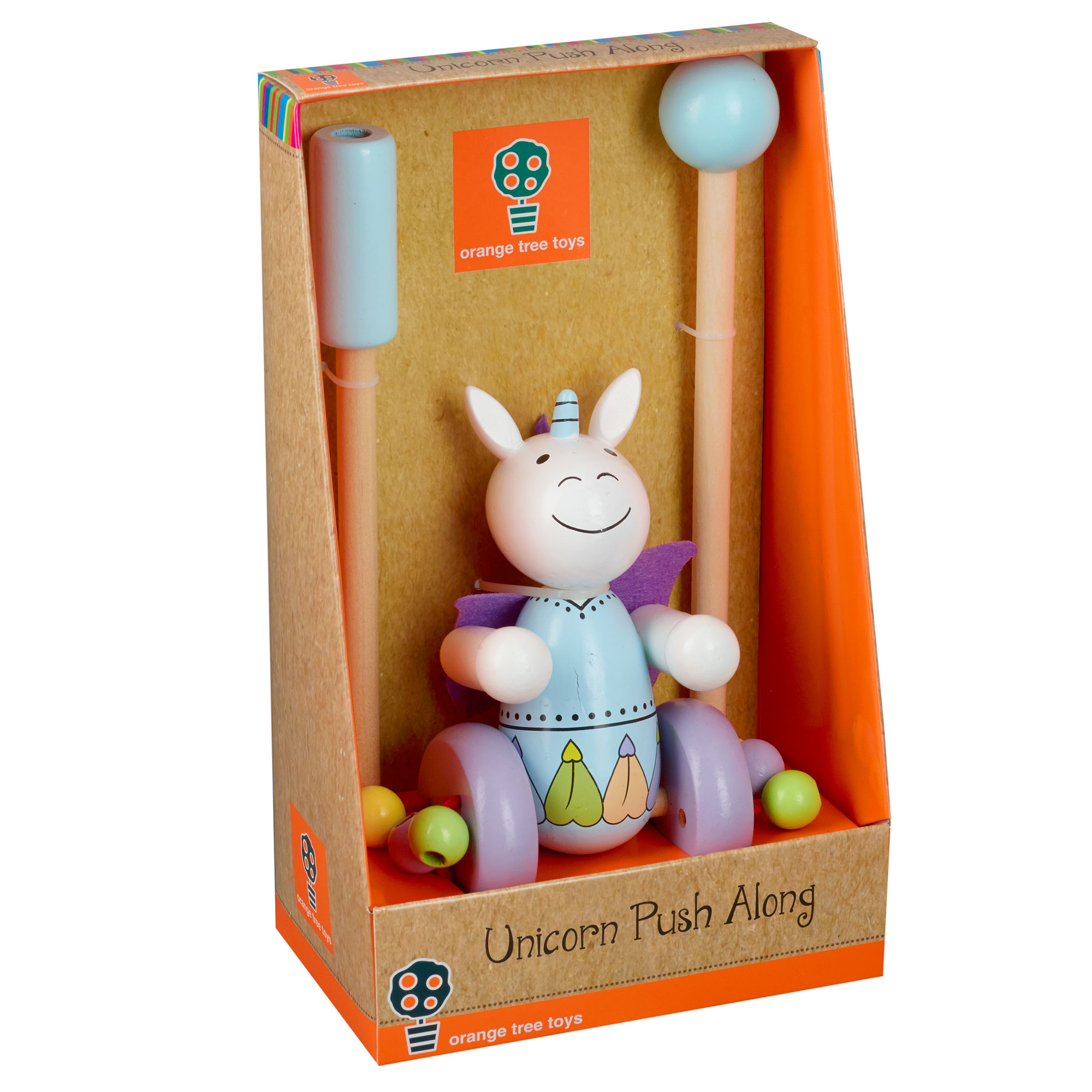 Picture of Unicorn Push Along Toy