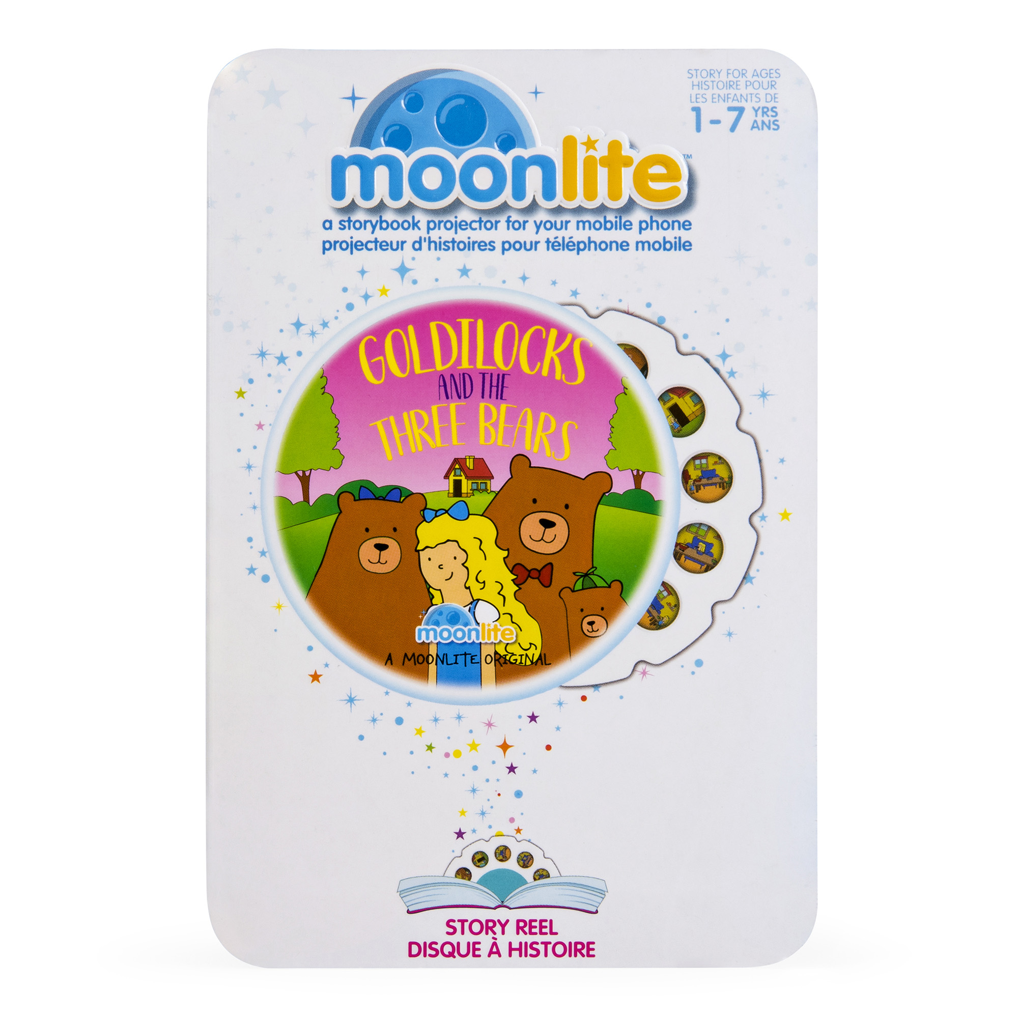 Picture of Moonlite Individual Goldilocks & the Three Bears Story Reel