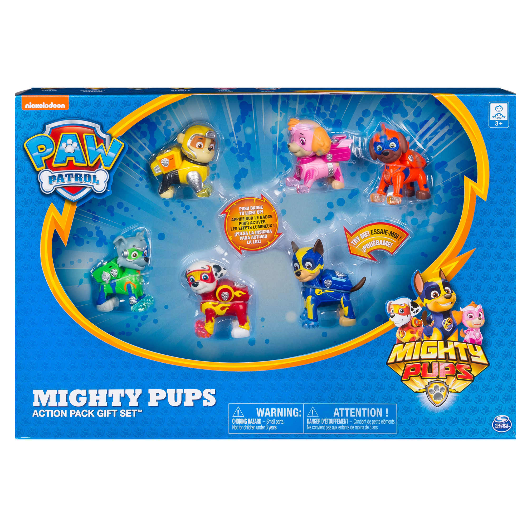 Picture of PAW Patrol Mighty Pups Flip N Fly Assortment