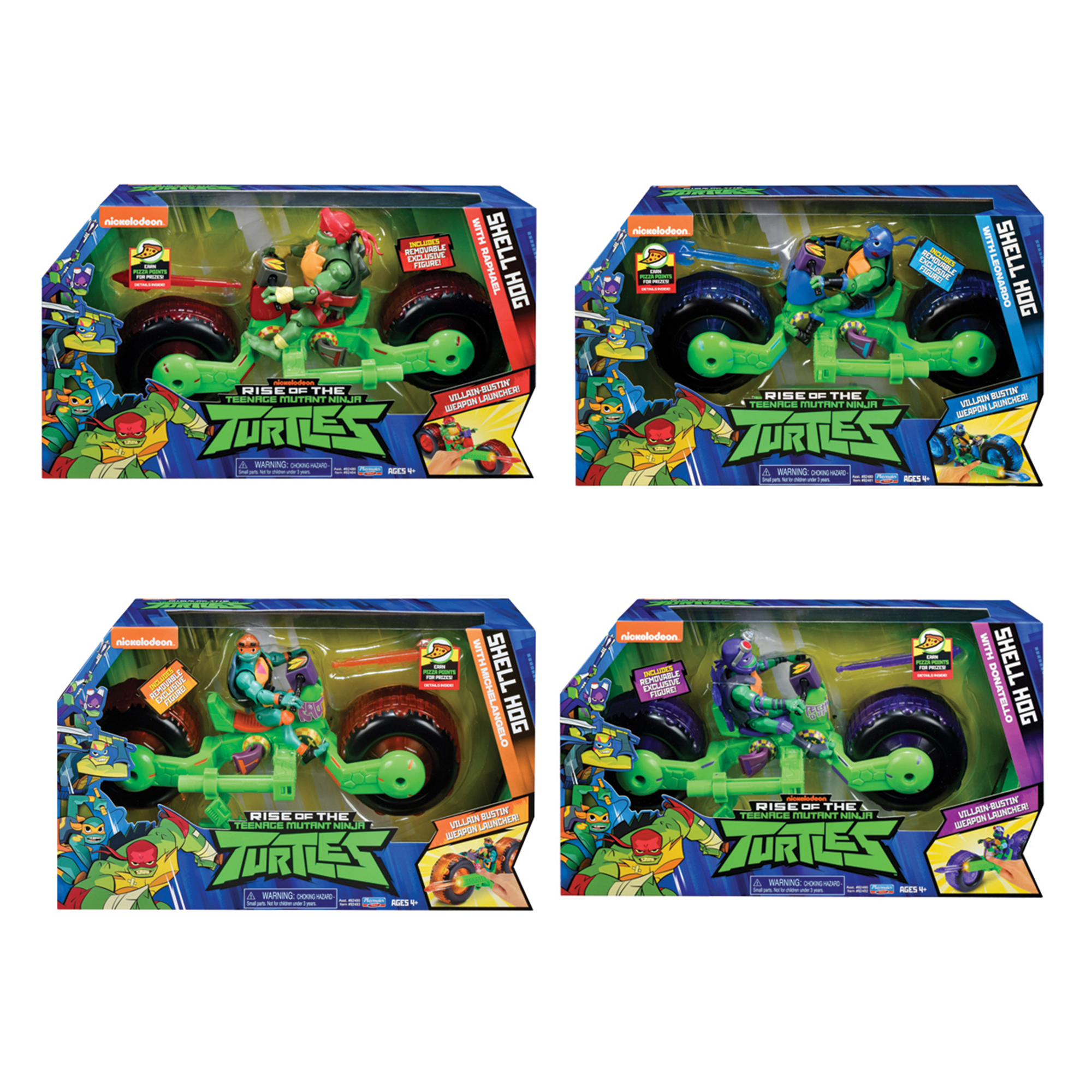 Picture of TMNT Vehicle & Figure Assortment Pack