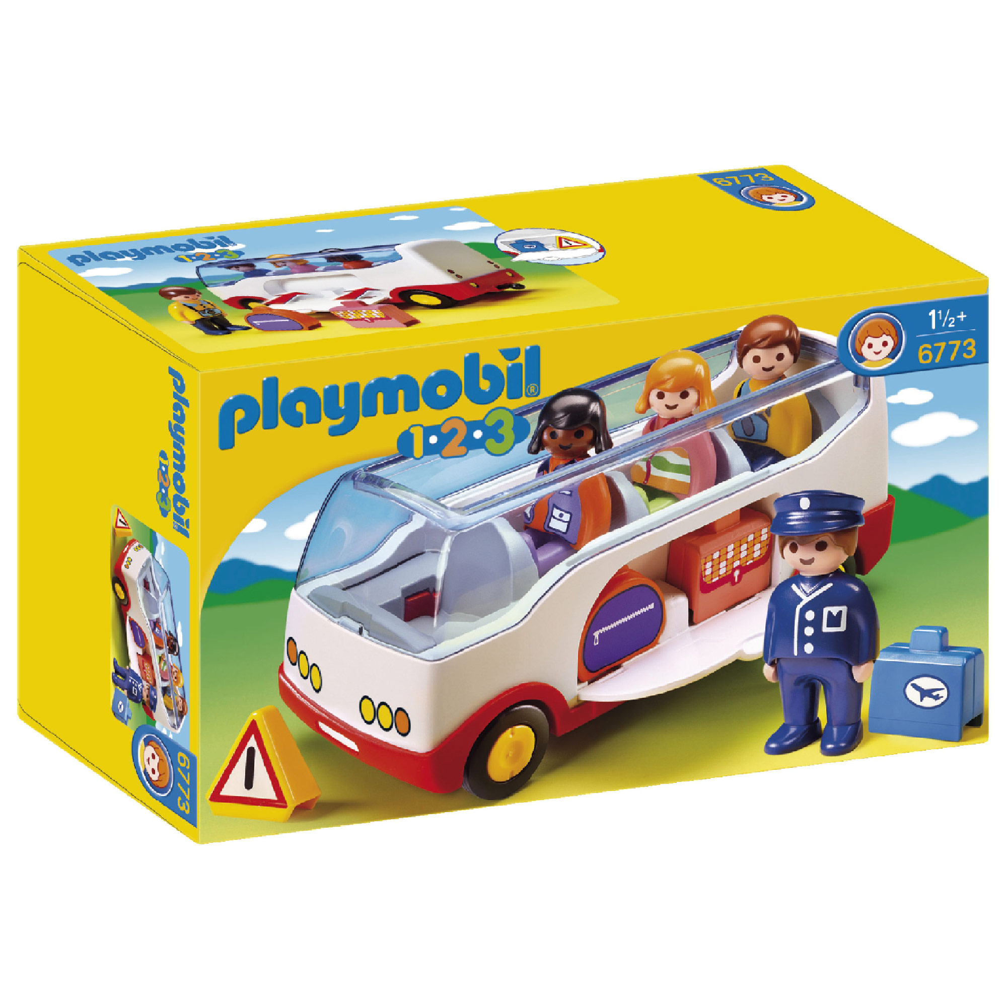 Picture of Playmobil 123 Airport Shuttle Bus 6773