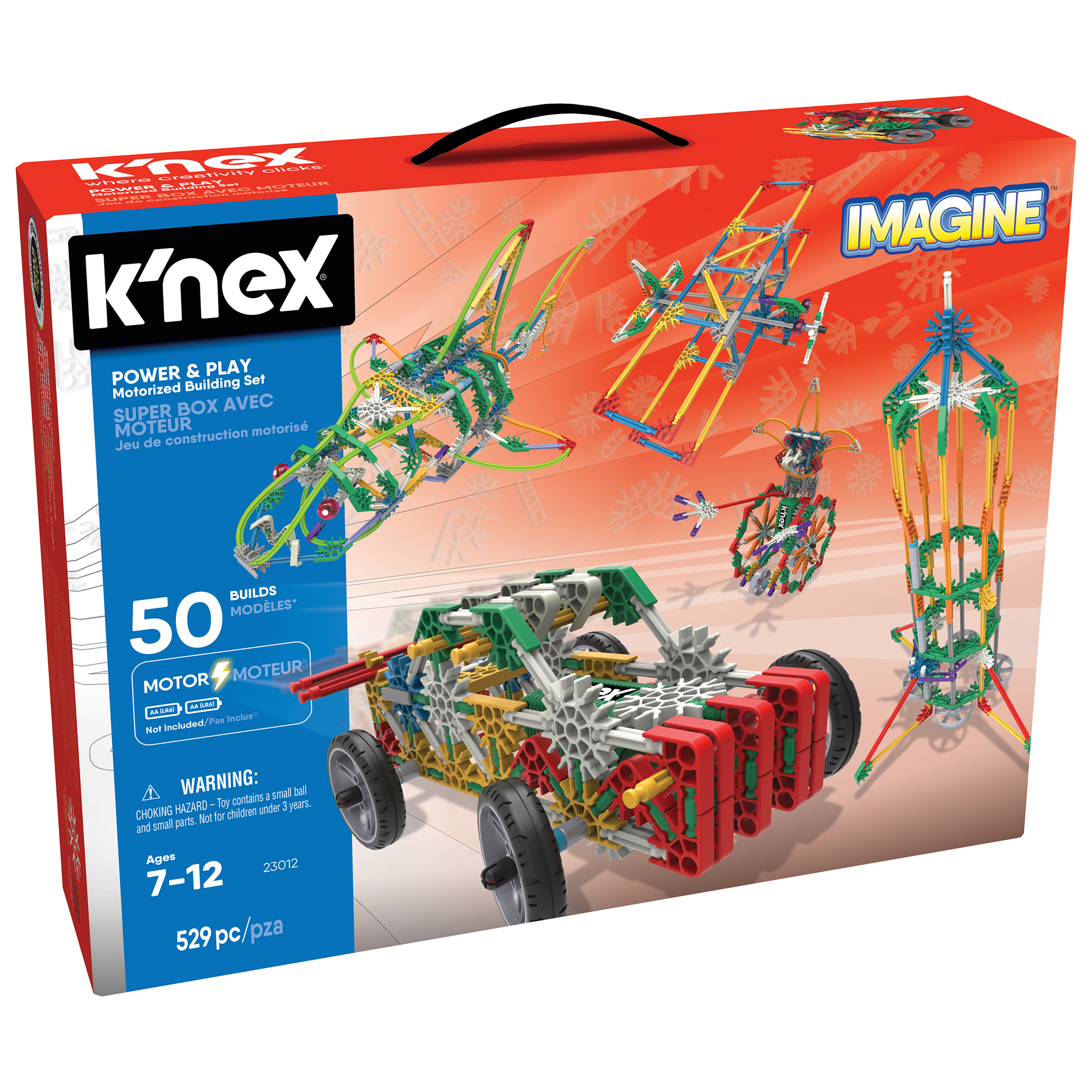 Picture of K'NEX Imagine Power & Play Motorised Building Set