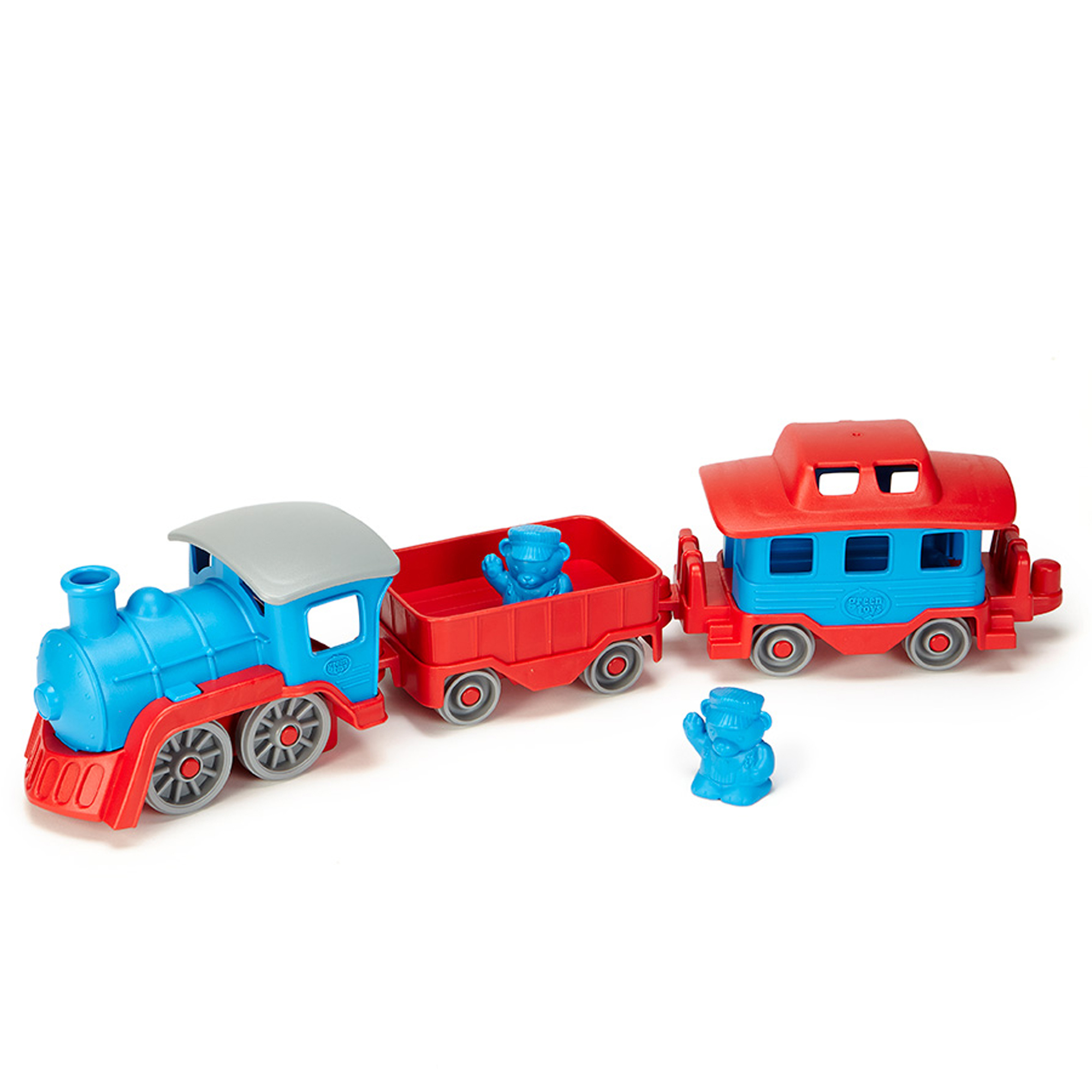Picture of Green Toys Blue Train Set