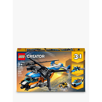 Picture of LEGO Creator 31096 3-in-1 Twin Rotor Helicopter