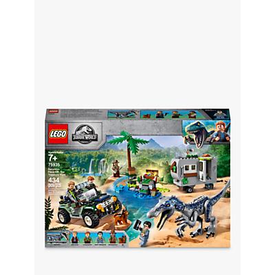 Picture of LEGO Jurassic World 75935 Baryonyx Face-Off: The Treasure Hunt