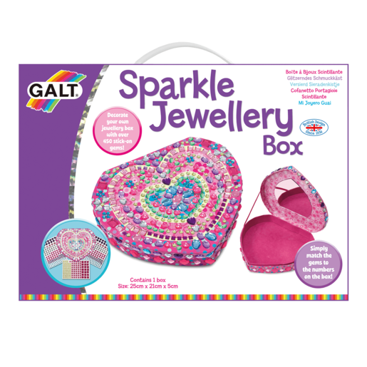 Picture of Galt Sparkle Jewellery Box