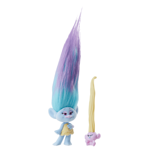 Picture of Dream Works Trolls Hair Raising Troll and Baby - Chenille