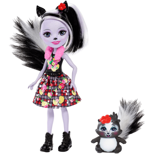 Picture of Enchantimals 15cm Doll - Sage Skunk and Caper