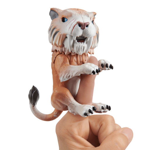 Picture of Untamed Sabre Tooth Tiger by Fingerlings - Bonesaw (Bronze)