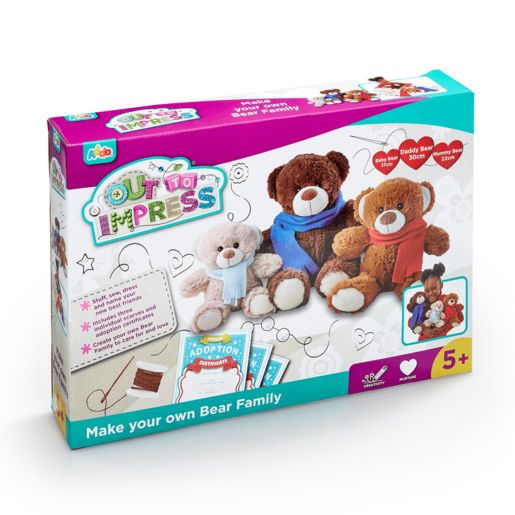 Picture of Out To Impress Make Your Own Bear Family