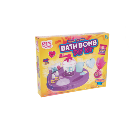 Picture of Kesho Hidden Surprise Bath Bomb Create Your Own Kit