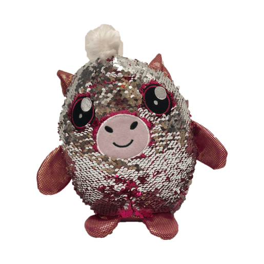 Picture of Sequin Surprise Soft Toy - Horse