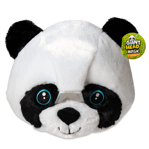 Picture of Plush Panda Head Mask