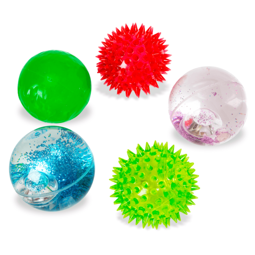 Picture of Jack's 5 Pack Ultimate Bounce Balls