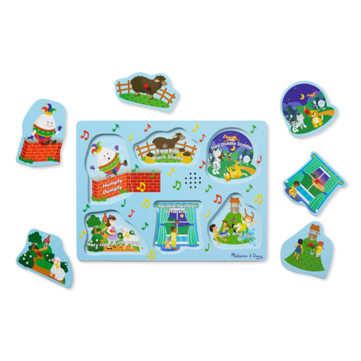 Picture of Melissa and Doug Sing-Along Nursery Rhymes 2 - Sound Puzzle