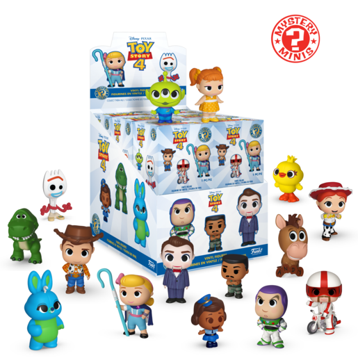 Picture of Funko Mystery Minis Series 1 - Toy Story 4 (One Figure Supplied)