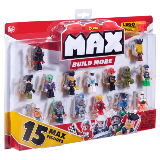 Picture of MAX Build More Mini Figure Set - 15 Figures By ZURU (Styles Vary)