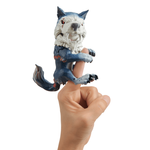 Picture of Untamed Dire Wolf by Fingerlings– Midnight (Black and Red)