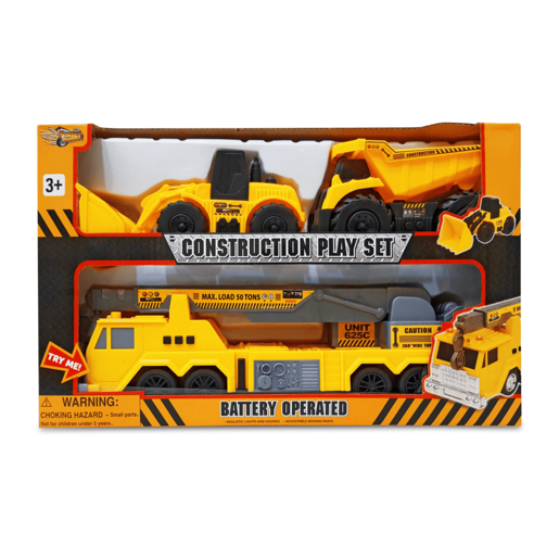 Picture of Construction Vehicles Playset