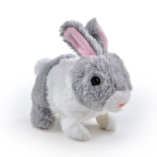 Picture of Pitter Patter Pets Teeny Weeny Bunny - Grey Bunny