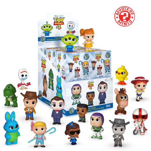 Picture of Funko Mystery Minis Series 2- Toy Story 4 (One Figure Supplied)