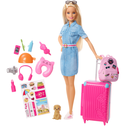 Picture of Barbie Doll Travel Playset