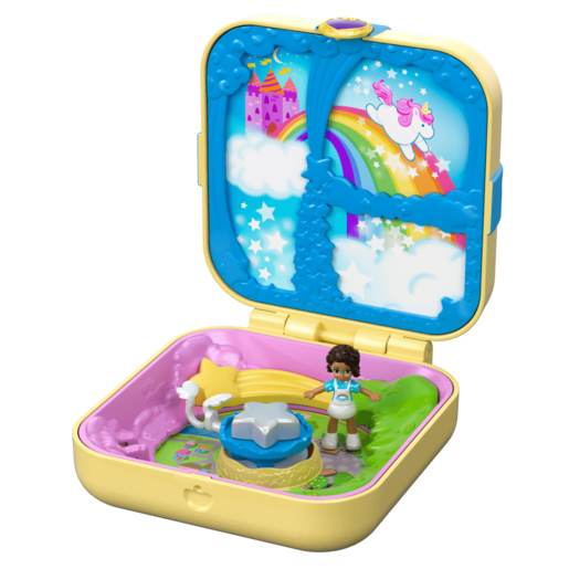 Picture of Polly Pocket Hidden Hideouts - Shani's Unicorn Utopia Playset