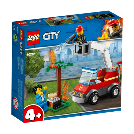 Picture of LEGO City Barbecue Burn Out - 60212