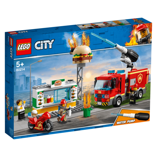 Picture of LEGO City Burger Bar Fire Rescue - 60214