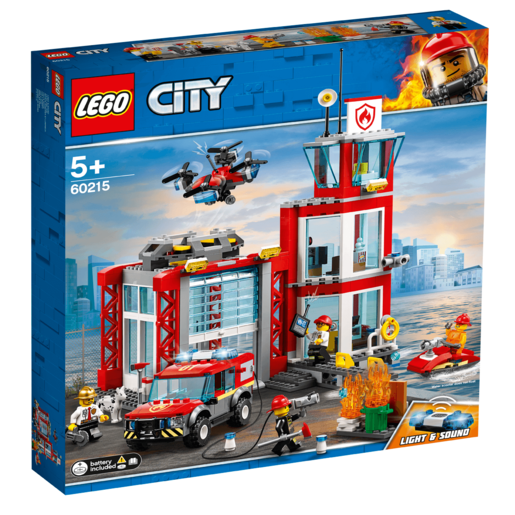 Picture of LEGO City Fire Station - 60215