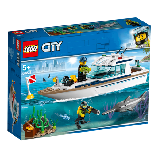 Picture of LEGO City Diving Yacht - 60221