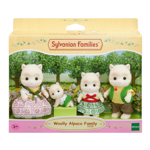 Picture of Sylvanian Families Woolly Alpaca Family