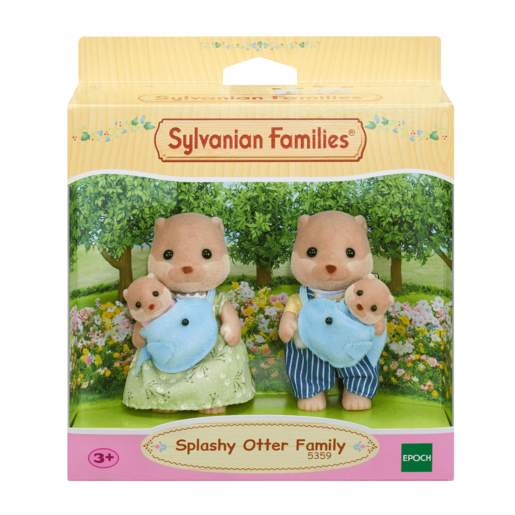 Picture of Sylvanian Families Splashy Otter Family
