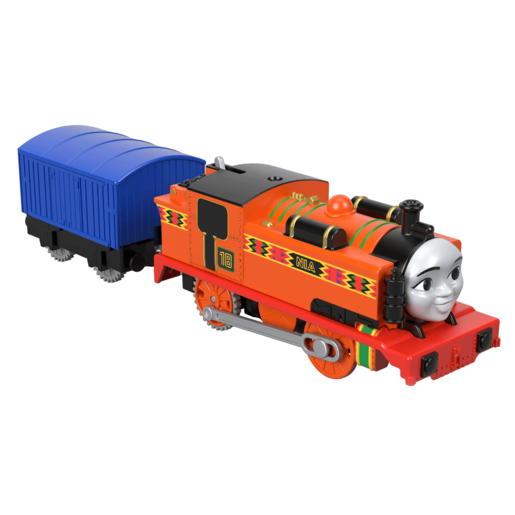 Picture of Fisher-Price Thomas & Friends TrackMaster Train Engine - Nia and Carriage