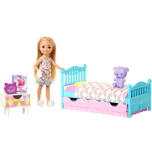 Picture of Barbie Club Chelsea 15cm Doll and Bedroom Playset