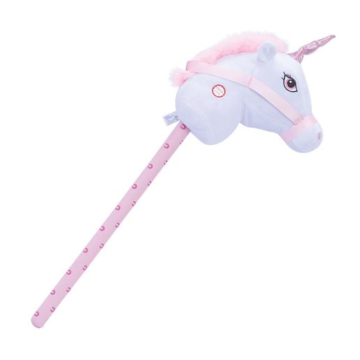 Picture of Pitter Patter Pets Giddy Up Hobby Horse - White
