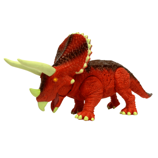 Picture of Mighty Megasaur 20cm Light and Sound Dinosaur - Triceratops