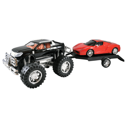 Picture of Team Power: Off Roader 4 x 4 Crusher and Trailer