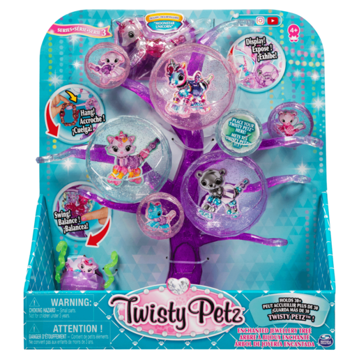 Picture of Twisty Petz Series 3 Enchanted Jewellery Tree
