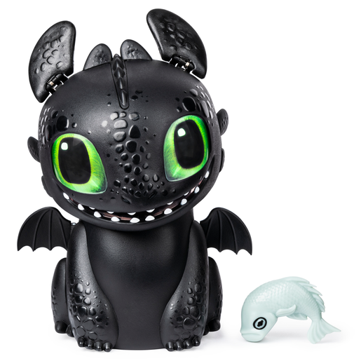 Picture of DreamWorks Dragons Hatching Interactive Baby Dragon - Toothless