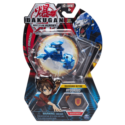 Picture of Bakugan 8cm Ultra Action Figure and Trading Card - Hydorous